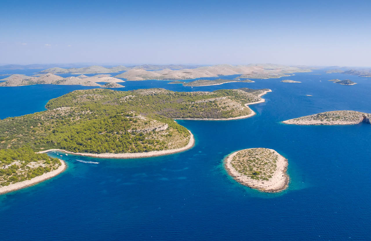 The Kornati archipelago